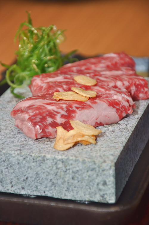 TAsus Volcanic stone Grilled Wagyu Beef