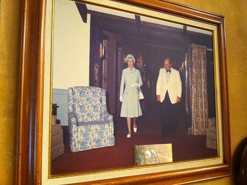 女王陛下のお写真