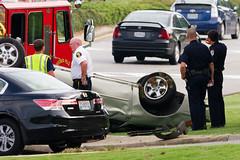 car accident @ vestavia hills (digitizedchaos) Tags: car birmingham highway accident alabama hills montgomery 31 vestavia sigma150500