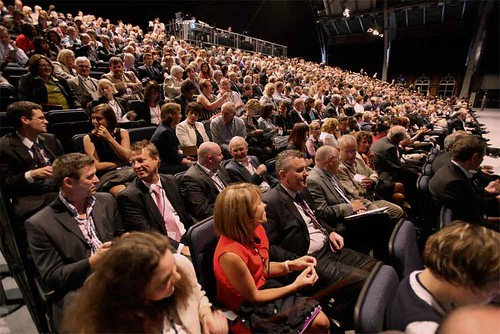 Plenary audience by NHS Confederation, on Flickr