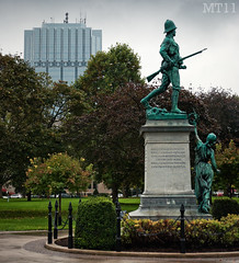 Remember (Matthew Trevithick Photography) Tags: park ontario canada london statue square october memorial war downtown matthew victoria trevithick 2011 onelondonplace matthewtrevithick mtphotography