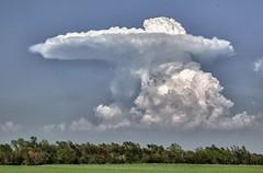 spring cloud - explore  # 1 (Marvin Bredel) Tags: storm oklahoma weather clouds interestingness explore mushroomcloud kingfishercounty i500 explore151 marvinbredel