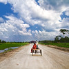 Tune of A Red-Green Landscape (bijoyKetan) Tags: from colors bike canon landscape asian highway shoot shot vibrant north run 7d 28 tamron vc bangladesh 1755 ketan panchagarh bijoyketan