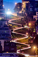 Lombard Street San Francisco (davidyuweb) Tags: sanfrancisco california street usa night san francisco lombard sfist lombardstreetatnightsanfrancisco