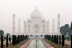 Taj Morning 2197 (Ursula in Aus) Tags: india architecture taj tajmahal agra unesco uttarpradesh earthasia