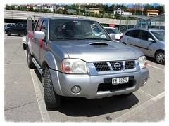 Nissan Navara (D22) (v8dub) Tags: auto up car 22 schweiz switzerland automobile nissan suisse d pickup automotive voiture pick wagen pkw pritsche navara worldcars