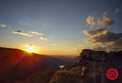 Sunset from Raven Rock Overlook (Kyle Krajnyak Photography) Tags: masontown westvirginia unitedstates us morgantown coopers rock state forest raven overlook sunset hdr wv hike hiking 2016 nexus6p cheat river canyon