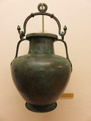 Albania - Near Pojani - Apollonia - Museum - 5th Century BC amphora (JulesFoto) Tags: albania apollonia pojani fier museum amphora
