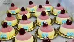 "Gelateria ""IL DOLCE SOGNO"" & Francesca Melis (cake designer) (bastaunpodizucchero) Tags: gelato ice cream icecream bavarese baby boy battesimo christening foodporn"