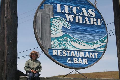 Lucas at Lucas Wharf