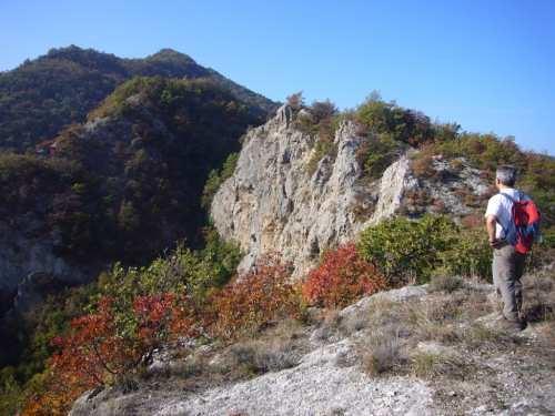 Escursione autunnale a Monte Incisa, lungo l'anello di Monte Mauro, foto di Marco Sami