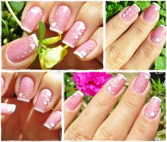 Loves in the air (Mhilka ♥) Tags: cute art love nail corações nailart unha eart francesinha decorada mhilka