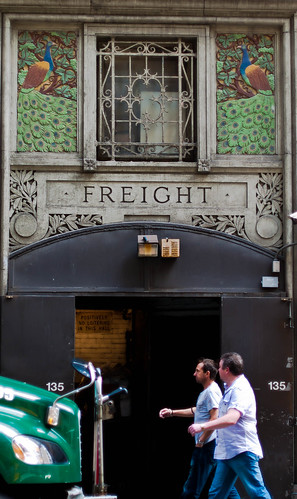 Peacock Freight Entrance