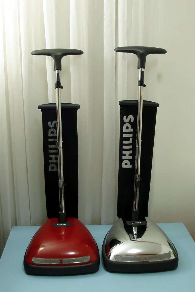 90's Philips floor polishers HL4126 and HL4127