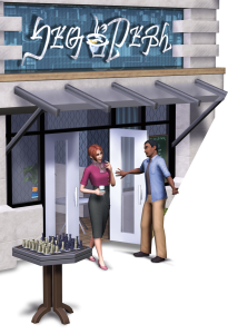 Sims 3 Town Life Stuff Pack Cafe