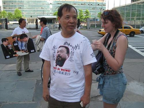 中国人权铁马万里行(第五天19日、第六天20日)