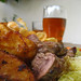Roast beef and ale
