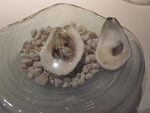 Manresa - Los Gatos, CA - June 2011 - Elemental (Poached) Oyster