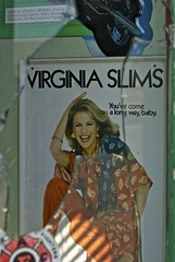 A long way (TravisTruman) Tags: advertising virginiaslims