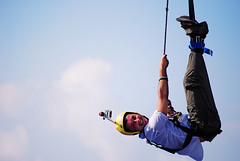Bungee jumping  :o) (Marci's) Tags: sport jumping nikon bungy bungeejumping marcis sportestremo lancioconelastico