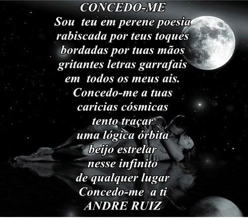 CONCEDO-ME by amigos do poeta