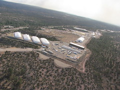 Recon from chopper approaching Area G waste storage area, Los Alamos National Laboratory (Los Alamos National Laboratory) Tags: county las fire los plateau g aerial national laboratory area operations waste emergency alamos conchas pajarito jemez recon resonse