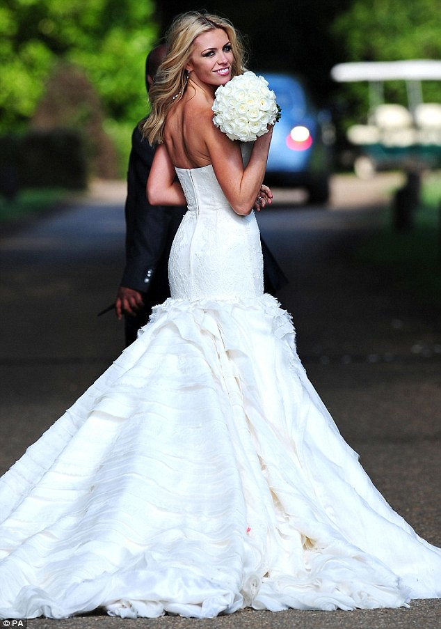 Nice day for a WAG wedding as Peter Crouch ties the knot with Abbey Clancy  4