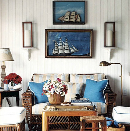 Nantucket Boat House by Gary McBournie 5