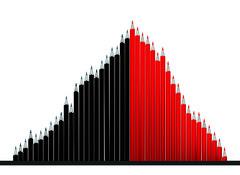 Pencils (yonsterz) Tags: chart different unique graph growth conceptual ideas redpencil redblack blackpencil