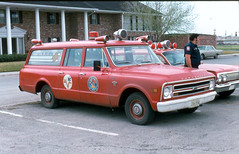 1968 Chevrolet (Dr. Mo) Tags: chevrolet texas victoria ambulance 1968 emergency firefighter bls ems firedepartment procar troxel drmo cotnerbevington robertknowles
