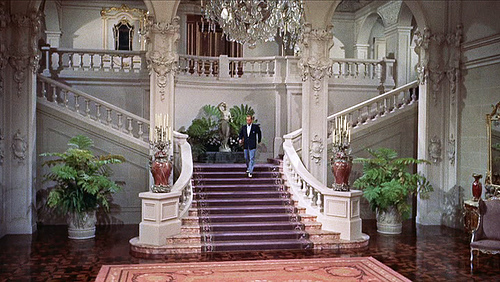 high society grace kelly vintage 50s staircase bing crosby