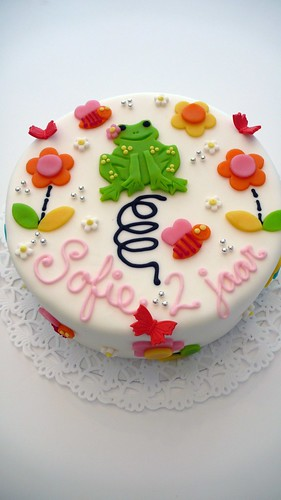 Jumping Frog Birthday Cake by CAKE Amsterdam - Cakes by ZOBOT