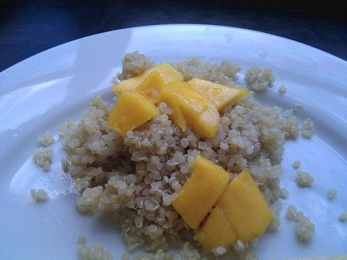 Pickering Mango over Quinoa
