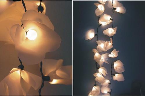 decoração com luminarias