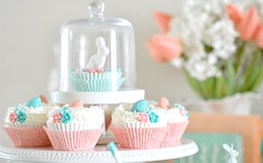 Easter cupcakes (toriejayne) Tags: flowers easter nest cupcake decor fondant buttercream easterinspiration easterideas easterstyling
