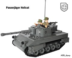 Captured M18 Hellcat (Panzerjger) WWII LEGO (MR. Jens) Tags: world two usa germany war wiking lego m18 wwii ss captured german american ww2 5th hellcat waffen panzerjger