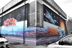 PIC TURIN - VIA ERNESTO RAGAZZONI (Andrea Votta) Tags: orange festival torino graffiti corn mr style pic il le e murales turin cerchio gocce wens reser fijodor