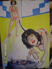 giantess request (www.artbygeorge.co.uk) Tags: street light me beer girl vw america garden painting out acrylic phil you beetle steps like babe it moo muse mclaren shade captain romeo lonely how thin says camper something finds herbie lizzy request giantess bout convenient lynott acrylicthe