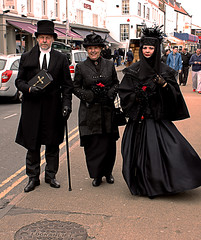 Whitby Goth Weekend 11 (Beachcomber ( By The Bay )) Tags: old beach festival photoshop canon eos death coast interesting north group goth 19thcentury victorian exhibit event coastal popular northeast alternative edwardian northeastcoast bythesea calmsea whitbygothweekend coastallife 450d canoneos450d newbigginphotographygroup photoshopelements80 beachcomberbythebay