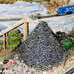 CG765 Tire Dump (listentoreason) Tags: usa america canon newjersey model modeltrain unitedstates favorites places diorama northlandz scalemodel modelrailroad hoscale ef28135mmf3556isusm score25 hoscalemodelrailroad