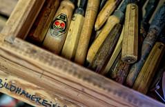 (ingridkreuz) Tags: wood work craft material holz handwerk arbeiten schreiner werkstatt werkzeug bildhauer