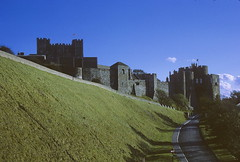 Dover Castle (Yvon from Ottawa) Tags: uk england castle history 1969 britain infrastructure wars tunnels dover bronzeage secondworldwar 12thcentury napoleonic