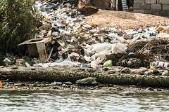 Debris, Shatt Al-Arab Waterway, Iraq