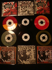 melvins gaylord and helmet split test press and variants (old ernie) Tags: