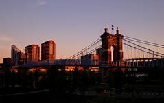 John A. Roebling Suspension Bridge (KittyKat3756) Tags: bridge ohio usa john suspension kentucky cincinnati covington roebling