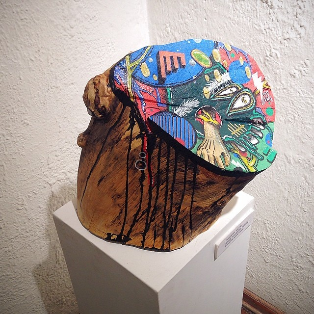 This is My 'WOOD' • de Mucho @theartofmucho #art #artinlima #arte #arteenlima