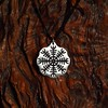 Aegishjalmur Pendant (PE symblc) Tags: tattoo necklace iceland jewelry celtic awe pendant rune vegvisir aegishjalmur gannicus magicalstavecompasshelm symbolcopperspartacus
