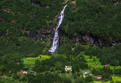 Flamsbana Train, View from A Scenic Rail Journey - Norway (Dimtze) Tags: norway sognogfjordane