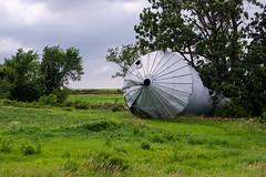 It's Bin Fun (nikons4me) Tags: storm steel grain iowa bin damaged sonye1855mmf3556oss sonynex7