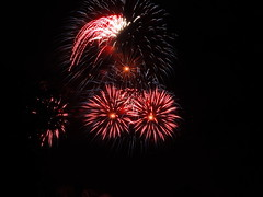 Fireworks (RWDrurey) Tags: ohio long fireworks lakes 4th july summit coventry portage independence p520